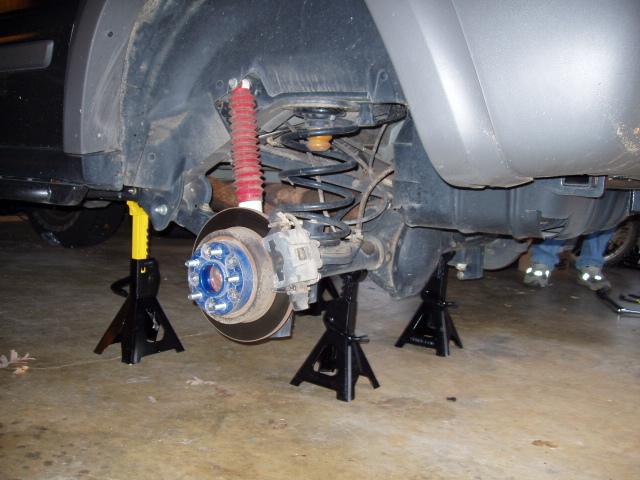 Fuzzymuzzle Com Jeep Liberty 8 25 Gear And Locker Install